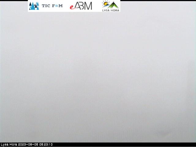 Internetová kamera na Lysé Hoře v Beskydech